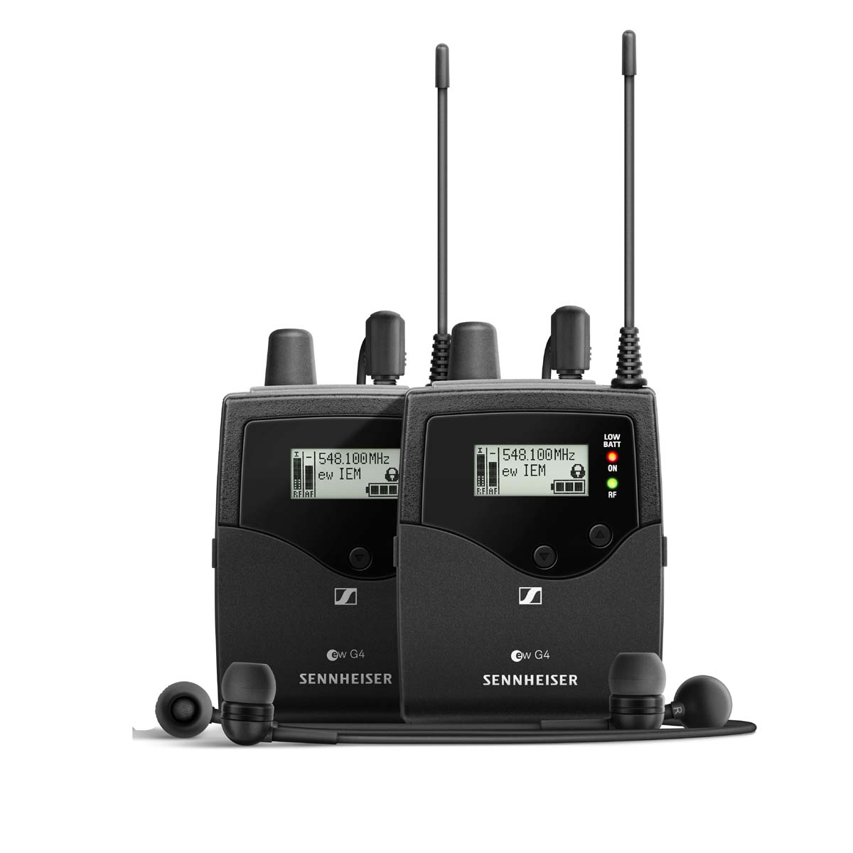 Sennheiser Ew Iem G4 Twin E Dual In Ear Monitoring System