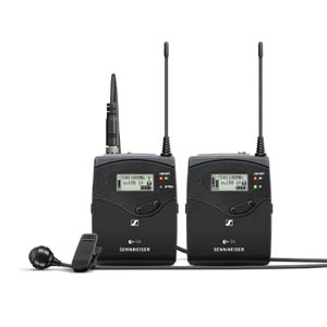 Sennheiser ew 122P G4 (Range GB) Wireless ENG Lapel System