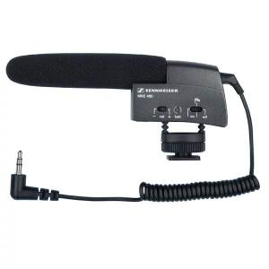 Sennheiser MKE400 Small Shotgun Video Camera Microphone