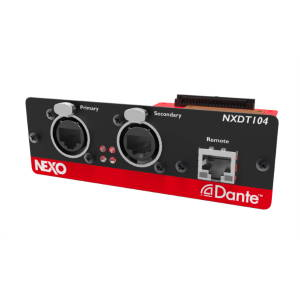 Nexo NXDT104 MK2 Dante Expansion Card