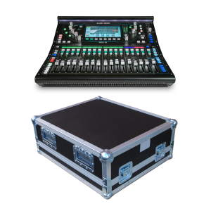 Allen & Heath SQ-5 Digital Mixer Bundle with Flightcase & Dustcover