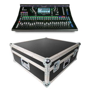 Allen & Heath SQ-6 Digital Mixer Bundle with Flightcase & Dustcover
