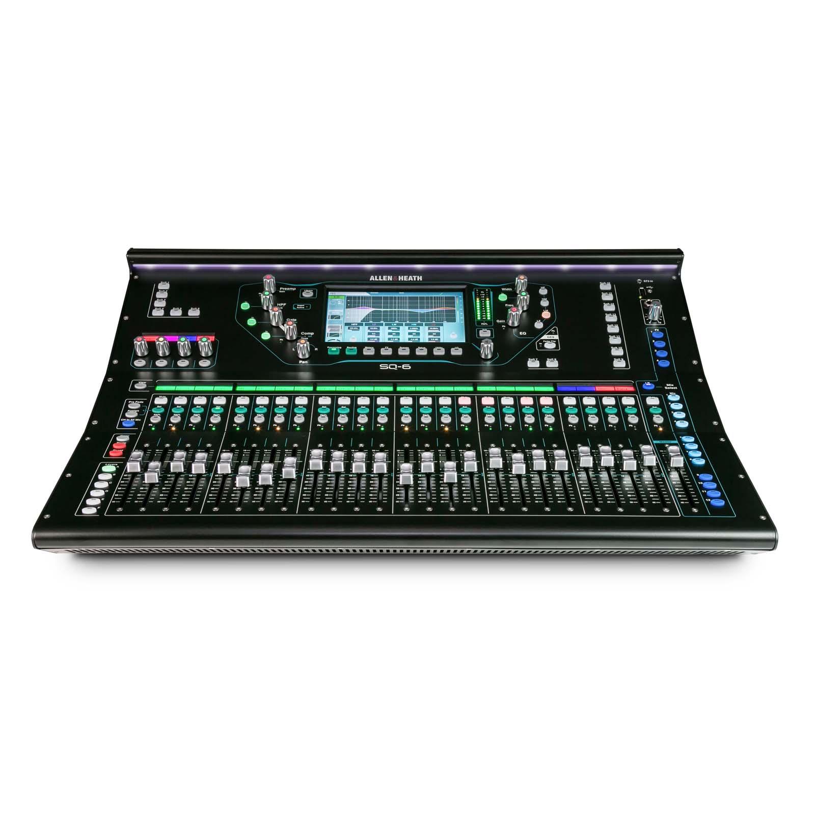 Allen Amp Heath Sq6 Digital Mixer