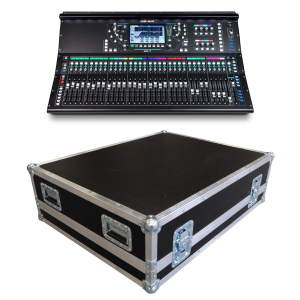 Allen & Heath SQ-7 Digital Mixer Bundle with Flightcase & Dustcover