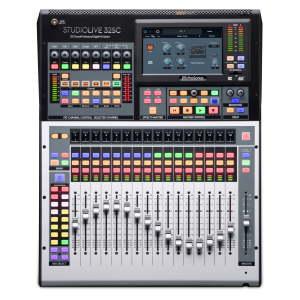 PreSonus StudioLive 32SC 32-channel digital mixer and USB audio interface