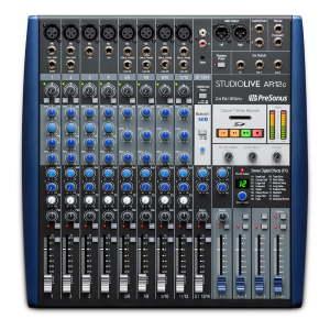 PreSonus StudioLive AR12c Analogue Mixer / Interface / SD Recorder