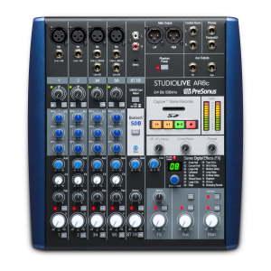 PreSonus StudioLive AR8c Analogue Mixer / Interface / SD Recorder