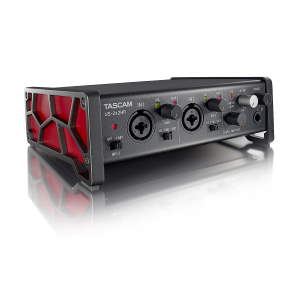 Tascam US-2x2HR High-Resolution USB Audio Interface (2 in, 2 out)