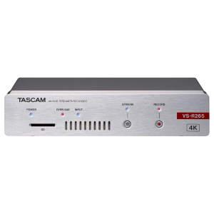 Tascam VS-R265 Live Streaming Encoder - Decoder - Recorder